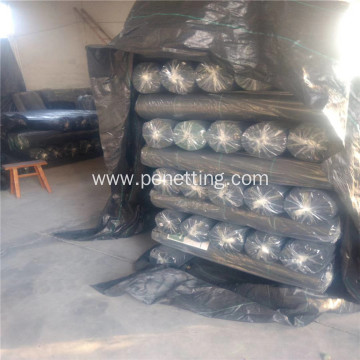 Agriculture weed control PP woven ground cover fabric